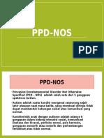 Ppd-nos