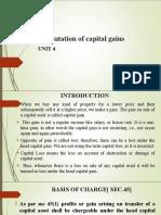 Computation of Capital Gains[1]
