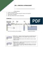 Basic Excel Handout