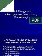 Bio Trp 2 Peranan Mikroorganisme Dalam Bidang Pangan1
