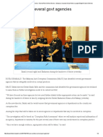 MACC Probes Several Govt Agencies – BorneoPost Online _ Borneo , Malaysia, Sarawak Daily News _ Largest English Daily in Borneo