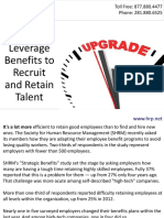 Leverage Benefits to Recruit and Retain Talent