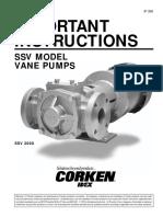 Stainless Steel SSV Model
