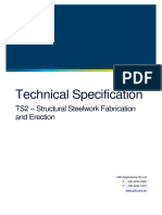 TS2 - Structural Steelwork Fabrication and Erection