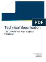 TS5 Mechanical Plant Supply Installation