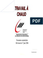 Formation Travail a Chaud 12-2006
