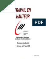 Formation Travail en Hauteur 12-2006