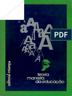 Teorias Marxistas Da Educacao I Suchodolski