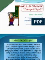 Bab II Statistik Deskriptif 2o14