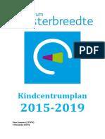 ikc plan kcwesterbreedte 2015-2019
