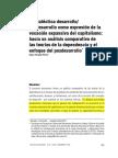 Hacia Un Análisis Comparativo de Las Teoria de La Dependencia y El Enfoque Del Posdesarrollo