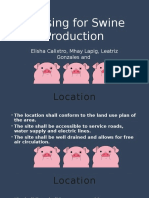 Housing for Swine Production