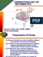The Neuropsychology of Mathematics
