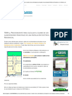 TEMA 4. Procedimiento Para Calcular El Calibre de Los Alimentadores Principales de Una Instalación Eléctrica Residencial. _ CivilGeeks