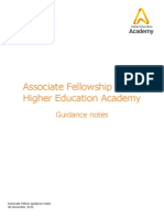 Afhea Guidance for Applicants 0