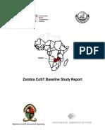 Zambia CoST Baseline Study FINAL REPORT