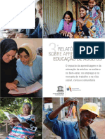 "Terceiro ""Relatório Global sobre Aprendizagem e Educação de Adultos"" (Global Report on Adult Learning and Education – GRALE III)"