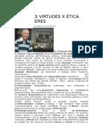 Etica Das Virtudes X Etica Dos Deveres