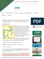 TEMA 22. Conexión de Una Lámpara Controlada Por Un Apagador Sencillo y Un Contacto en La Misma Caja. _ CivilGeeks