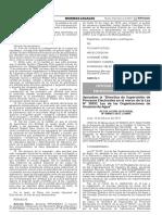 Aprueban la Directiva de Supervisión de Procesos Electorales en el marco de la Ley N° 30157 Ley de las Organizaciones de Usuarios de Agua