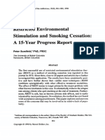 REST and Smoking Cessation