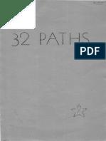 Paul Foster Case - 32 Paths Lessons 1-17 - 1950.pdf