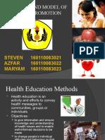 Health Education Methods