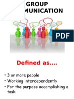 Group Communication 1(2)