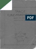 Paul Foster Case - Tarot Fundamentals - 1936.pdf