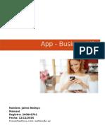 Plan y Desarrollo App Movil