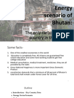 Bhutan-Renewable Energy Systems