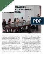 9 Fundamentación Etica en El Paciente Psiquiatrico