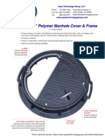 ATG 2400 - 24 Inch Polymer Manhole Cover and Frame