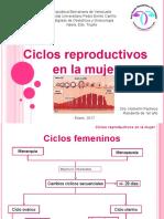 Ciclos reproductivos. seminario
