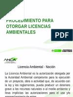 Procedimiento Para Otorgar Licencias Ambientales - Anla