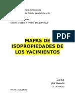 ISOPROPIEDADES DE LOS YACIMIENTOS