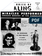 1954 January VOICE OF HEALING MAGAZINE