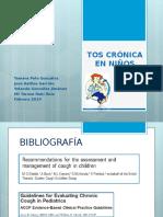 Protocolo Tos Crónica