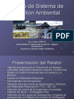 Curso de Sistema de Gestión Ambiental Normativa