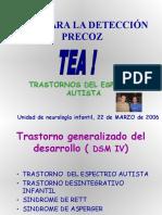 Trastornos de Espectro Autista