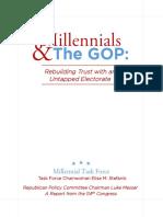 Stefanik Final Millennial Report