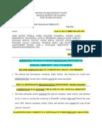 "Emergency Motion to Enjoin Fraudulent Pretenses of ""judicial Immunity"", Doc. # 29"