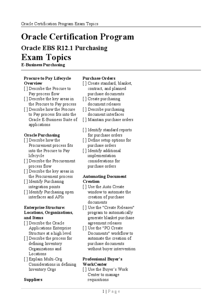 Oracle ebs r121 purchasing certification application oracle ebs r121 purchasing certification application programming interface procurement xflitez Image collections