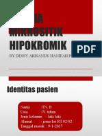 Anemia Mikrositik Hipokromik