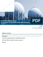 Economics of Small-Mid Scale LNG in Power and Non-power