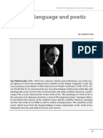 Mukarovsky. Poetic Language.pdf