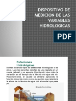 Dispositivo de Medicion de Las Variables Hidrologicas