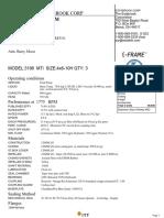 K Brine and Submersible Pump Data