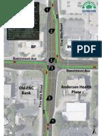 Beechmont Five Mile Road, Aerial Illustration