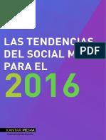 Las Tendencias Del Social Media Para El 2016